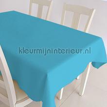 Turquoise uni nappes Kleurmijninterieur couleurs unies