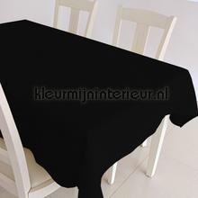 Zwarte uni nappes Kleurmijninterieur couleurs unies