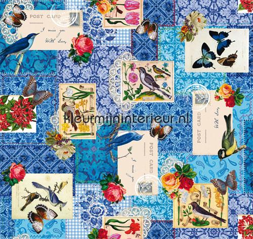 Bianca blauw tafelzeil 3854521 DC-fix collectie