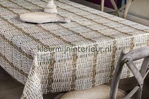 Gevlochten riet oilcloth 150-181 decors prints Patifix