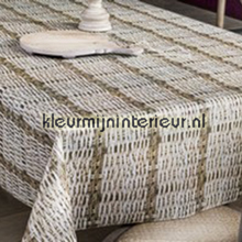 Gevlochten riet table covering Patifix all images