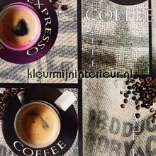 Café Juta oilcloth uni farver