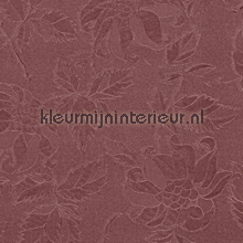 Bladeren - donkerrood tafelzeil Dutch Wallcoverings dessins