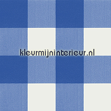 Blauw-wit blokje table covering D&B all images