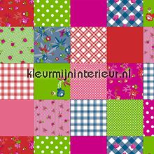 Plaid kleurrijk tafelzeil D&B ruiten
