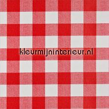 Vichy ruit rood/wit tafelzeil DC-Fix Ruiten