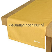 St. Tropez tafelloper geel tafelzeil Blyco uni kleuren