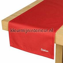 St. Tropez tafelloper rood tafelzeil Blyco uni kleuren