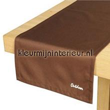 St. Tropez tafelloper bruin tafelzeil Blyco uni kleuren