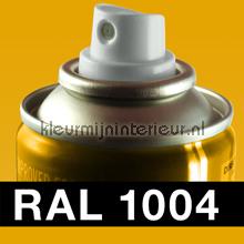 RAL 1004 Goudgeel carpaint Motip RAL hobby paint