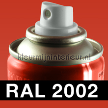 RAL 2002 Bloed Oranje carpaint Motip RAL hobby paint