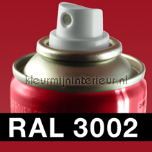 RAL 3002 Karmijnrood carpaint DupliColor RAL hobby paint