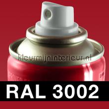 RAL 3002 Karmijnrood autolak DupliColor RAL hobby lak
