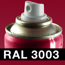 RAL 3003 Robijn Rood autolak Motip RAL hobby lak