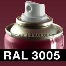RAL 3005 Wijnrood carpaint Motip RAL hobby paint