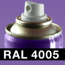 RAL 4005 Blauw-Lila carpaint Motip RAL hobby paint