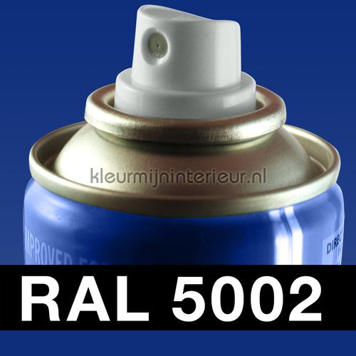 RAL 5002 Ultramarijn Blauw autolak Motip RAL hobby lak