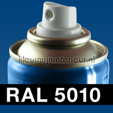 RAL 5010 Enzian Blauw carpaint Motip RAL hobby paint