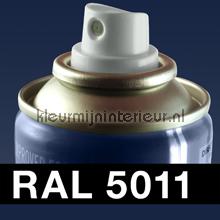 RAL 5011 Staalblauw autolak Motip RAL hobby lak
