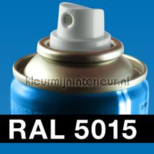 RAL 5015 Hemelsblauw autolak Motip RAL hobby lak