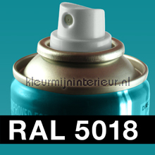 RAL 5018 Turquoise carpaint DupliColor RAL hobby paint