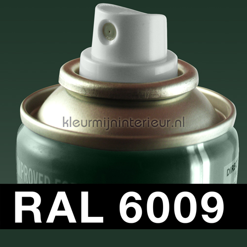 RAL 6009 Dennen Groen autolak Motip RAL hobby lak