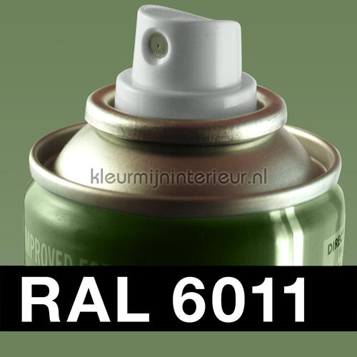 RAL 6011 Reseda Groen autolak 01688 RAL hobby lak Motip
