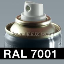 RAL 7001 Zilvergrijs autolak Motip RAL hobby lak
