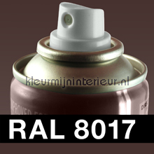 RAL 8017 Chocolade Bruin autolak DupliColor RAL hobby lak