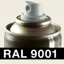 RAL 9001 Creme-Wit autolak Motip RAL hobby lak