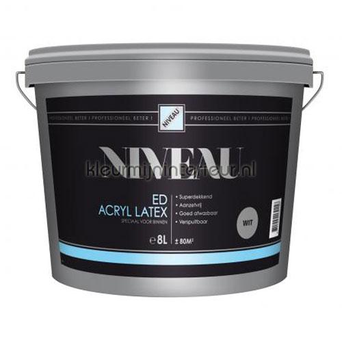 Acryllatex wit pintura Niveau Muurverf