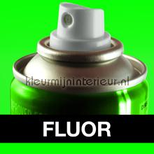 Spuitbus fluor groen autolak Motip fluor verf