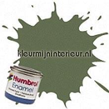 31 groen mat carpaint Humbrol mini pots of paint