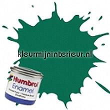 116 donker groen mat carpaint Humbrol mini pots of paint