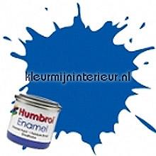 222 maanlicht blauw metallic carpaint Humbrol mini pots of paint
