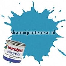89 midden blauw mat carpaint Humbrol mini pots of paint