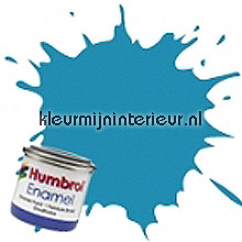 48 midden blauw glans carpaint Humbrol mini pots of paint