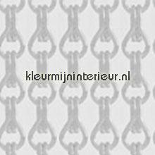 Aluminium zilver mat vliegengordijnen Aluminium ketting Uni