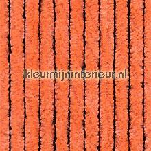 Kattestaart oranje rideaux de porte pvc lamel