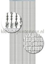 chios transparant zwarte draad cortinas antimoscas miçangas