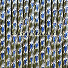 Lucca blauw transparant fly curtains synthetic thread