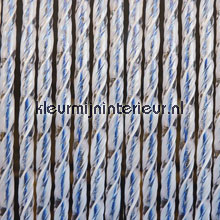 Bali blauw fly curtains synthetic thread