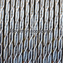 Bali zwart fly curtains synthetic thread