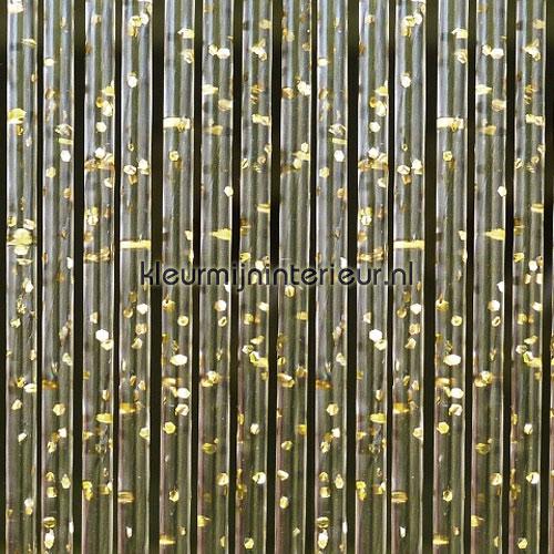 como goud transparant rideaux de porte synthetic thread