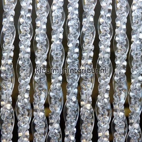 malta transparant tende per porte synthetic thread