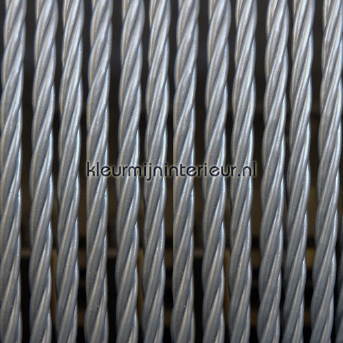 napoli zilver fly curtains synthetic thread