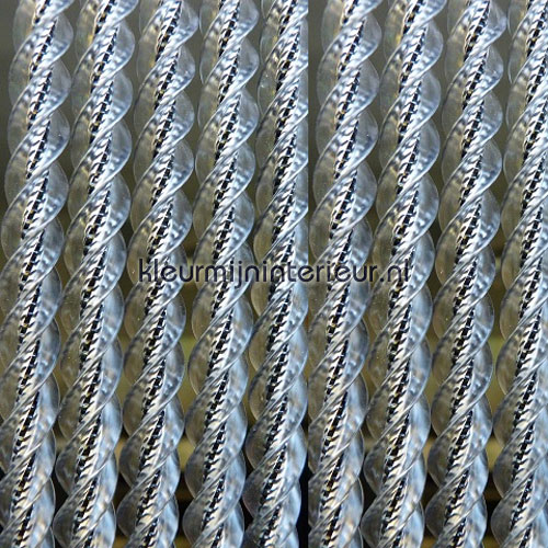 venetie zwart transparant tende per porte synthetic thread