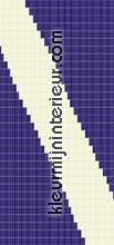 Diagonale lijn tende per porte tutti immagini