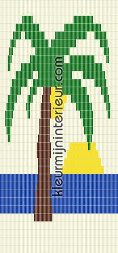 palmboom met zon fluegardiner 1 pvc