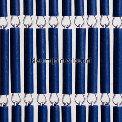 halve hulzen blauw 100-stuks vliegengordijnen kunststof los materiaal